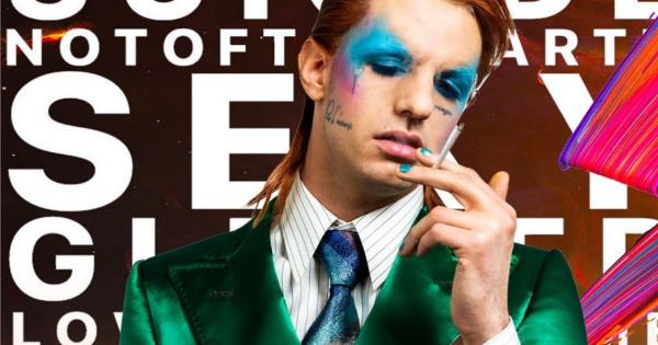 Achille Lauro si ispira a David Bowie per il suo secondo look a Sanremo 2020
