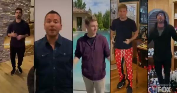 "I Backstreet Boys cantano ""I Want It That Way"" da casa: la reunion da sogno"