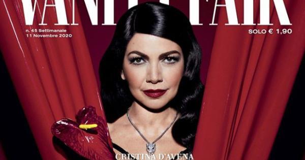 Cristina D'Avena, provocante e sensuale per Vanity Fair