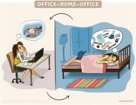 Lavoro In Ufficio Vignette : Le vignette che mostrano la verità sulla vita da ufficio foto