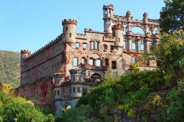 Il castello Bannerman (Isola di Pollepel, New York)