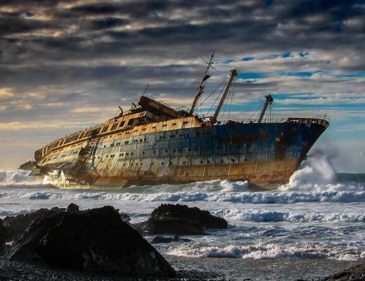 Relitto della SS America (Fuerteventura, Isole Canarie)