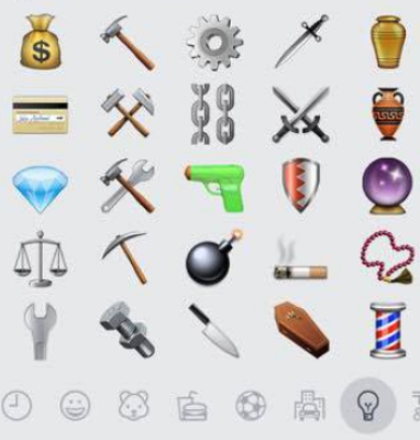 Il nuovo linguaggio delle emoji di whatsapp foto 1 di 5 - Regalare uno specchio porta male ...
