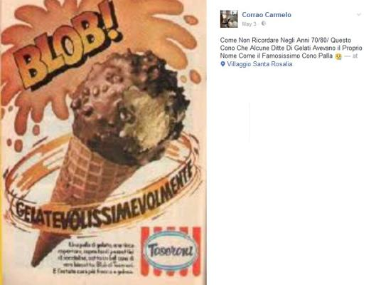 I gelati vintage degli anni '80 e '90  Quanti ne ricordate