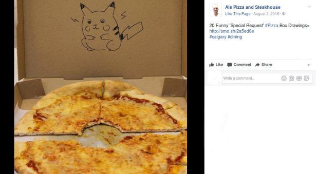 12 Pizze Speciali A Domicilio Ecco Gli Spettacolari Disegni Sui