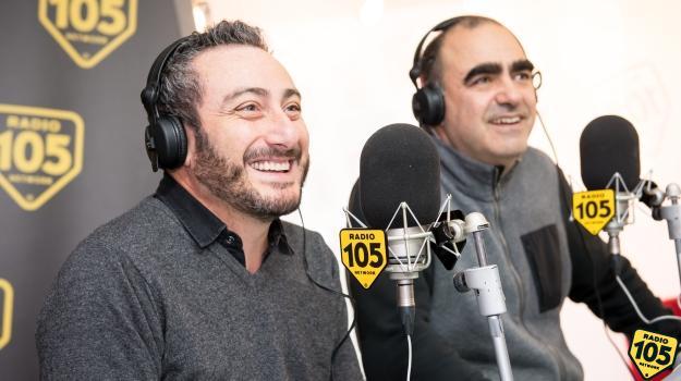 Elio e Claudio Insegno a 105 Friends: le foto