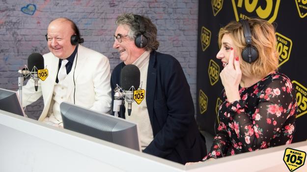 Le foto di Neri Parenti, Massimo Boldi e Barbara Foria a 105 Mi Casa