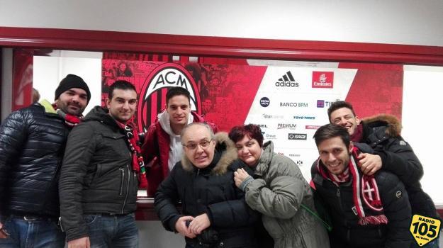 Giornata Rossonera: i vincitori del nostro concorso hanno incontrato i giocatori del Milan!