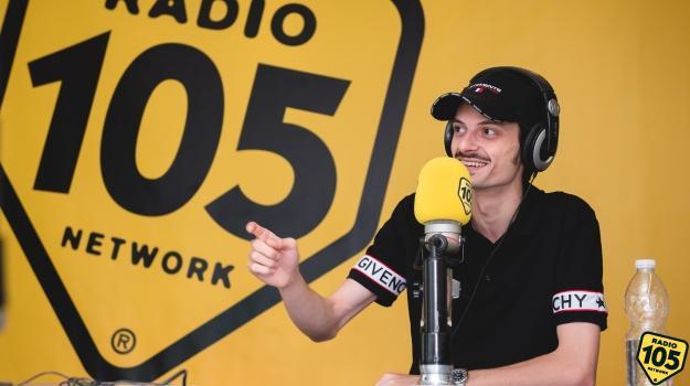 Fabio Rovazzi a 105 Mi Casa: le foto dell'intervista