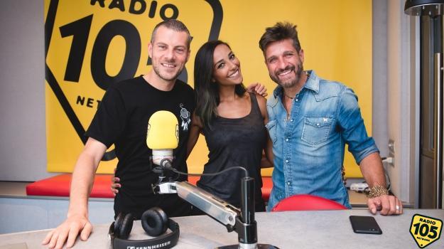 Juliana Moreira ed Edoardo Stoppa a 105 Mi Casa: le foto