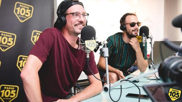 Willy Peyote e Frank Sativa a 105 Non Stop con Moko: le foto dell'intervista