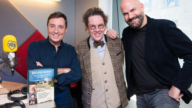Philippe Daverio, le foto dell'intervista a 105 Friends