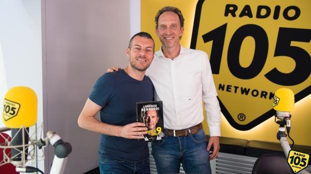 Lorenzo Bernardi a 105 Mi Casa per presentare il libro La regola del 9
