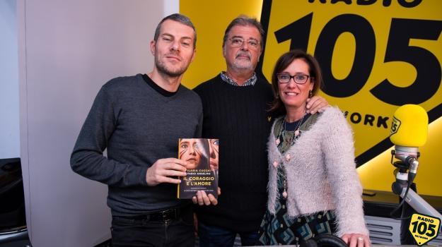 Ilaria Cucchi e Fabio Anselmo a 105 Mi Casa: le foto dell'intervista