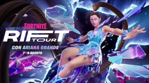 Ariana Grande debutta su Fortnite