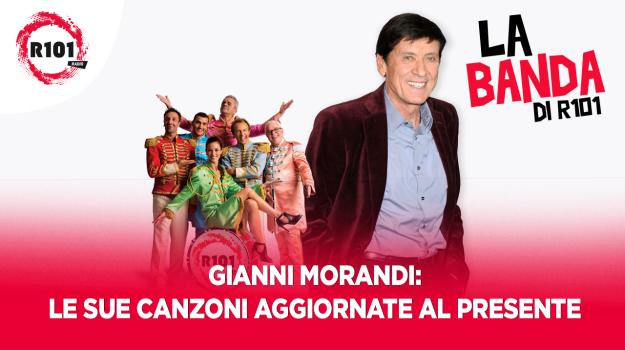 Le canzoni di Gianni Morandi aggiornate al presente