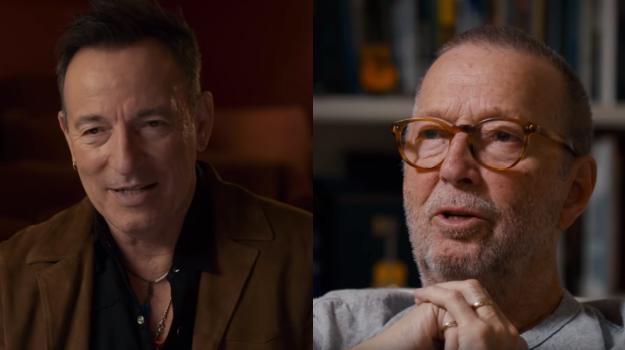 Bruce Spingsteen ed Eric Clapton opiti nel documentario dedicato ai The Band. Guarda il trailer ufficiale