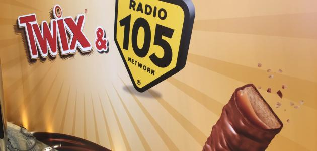 Guarda la gallery del Radio 105 TWIX® Day