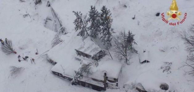 Terremoto: slavina sul Gran Sasso. Travolto l'Hotel Rigopiano