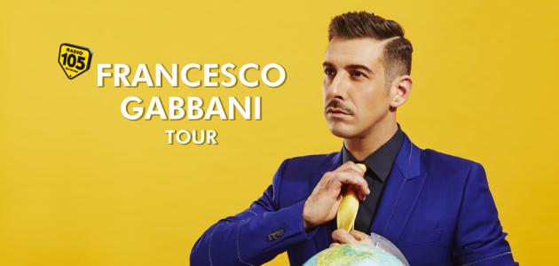 Con Radio 105 al Francesco Gabbani Tour: appuntamento a Milano il 29 giugno!