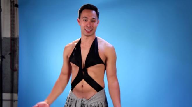 Costume Da Bagno Ragazzo : Quando gli uomini indossano i costumi da bagno femminili