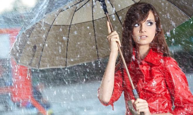 Ma è vero che piove sempre nel weekend?