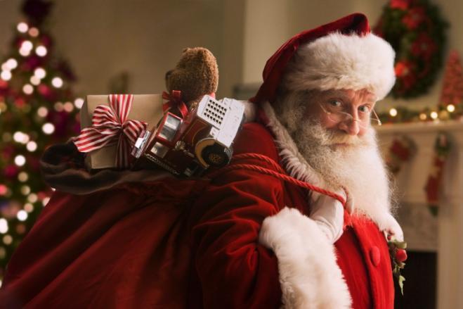 Babbo Natale Che Viene A Casa.Come Fa Babbo Natale A Entrare Nel Camino Radio 105