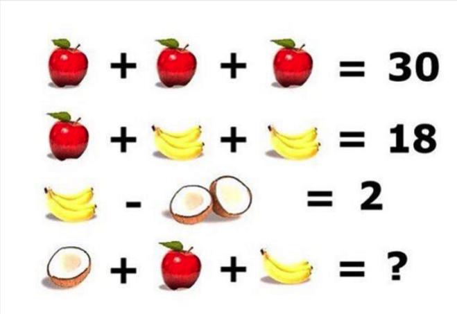 Quiz matematico quanto vale la frutta radio 105 for Frutta con la o iniziale