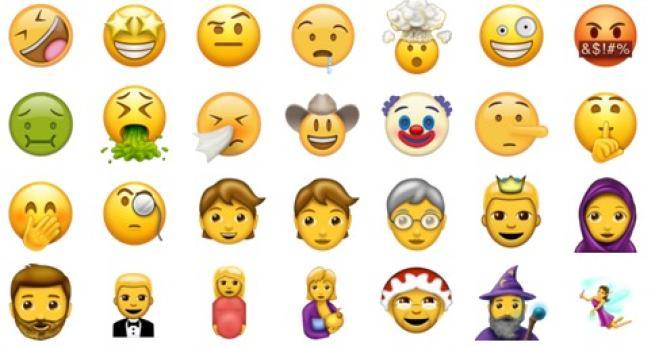 tutto emoticon esistono