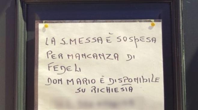 Venezia: niente fedeli, messa annullata