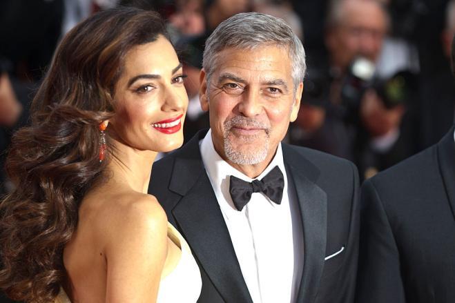 George Clooney papà / Amal Alamuddin ha partorito: sono nati Ella e Alexander!