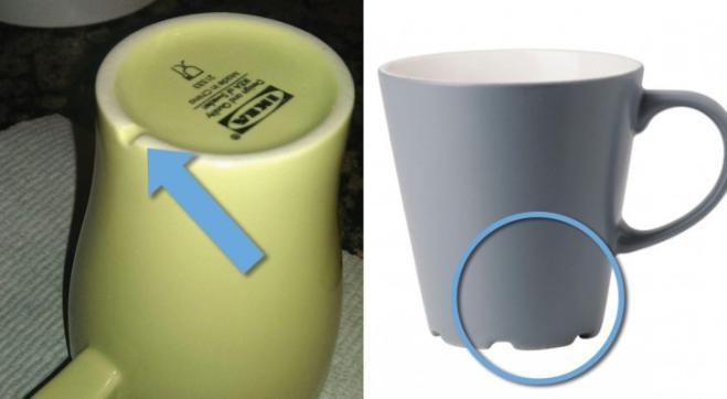 ca83c04256 Sai a cosa serve il solco sotto tutte le tazze Ikea? - Radio 105