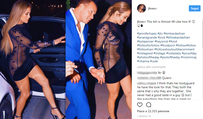 festa 48 alla abito superprovocante per anni Lopez Jennifer i nfqSBxIv