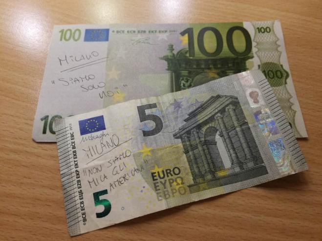 Vasco Rossi, i nomi delle sue canzoni sulle banconote. Ecco l'iniziativa dei fan!