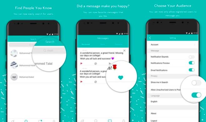 #Sarahah: l'app per messaggi anonimi