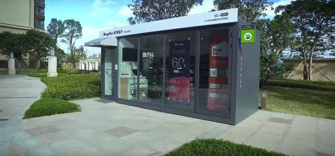 f45bc9bff077 In Cina i negozi non hanno né personale né soldi  si fa tutto con lo ...