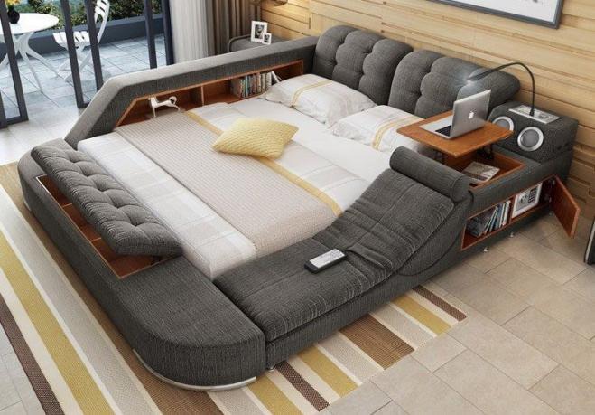 Ecco il letto per pigri e dormiglioni! Alzarsi è praticamente ...