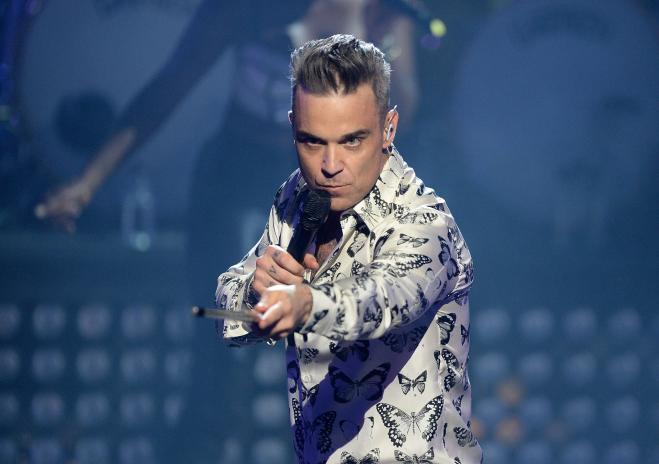 Robbie Williams choc:
