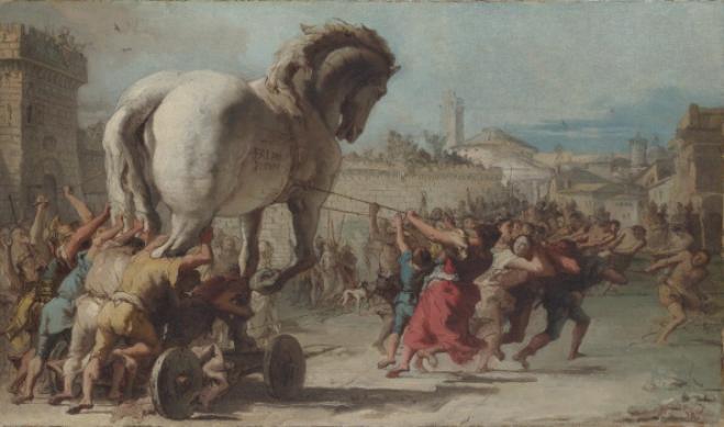 L'incredibile scoperta sul cavallo di Troia: era una nave!