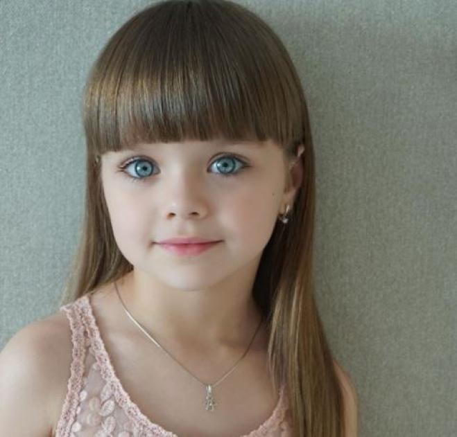 la nuova bambina pi bella del mondo ha 6 anni e viene