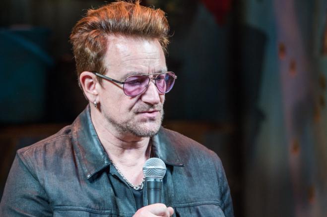 Bono, frontman U2: