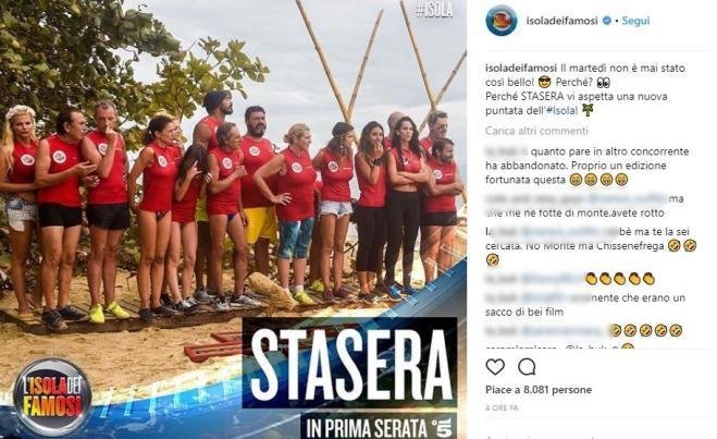 Isola dei Famosi 2018: Bianca Atzei e Filippo Nardi sempre più vicini