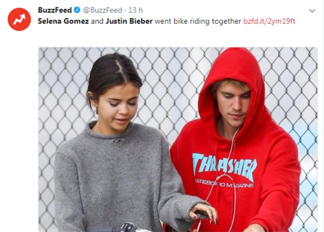 Justin Bieber e Selena Gomez: baci al matrimonio
