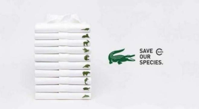 Lacoste sostituisce il logo del coccodrillo con gli for Coccodrillo lacoste