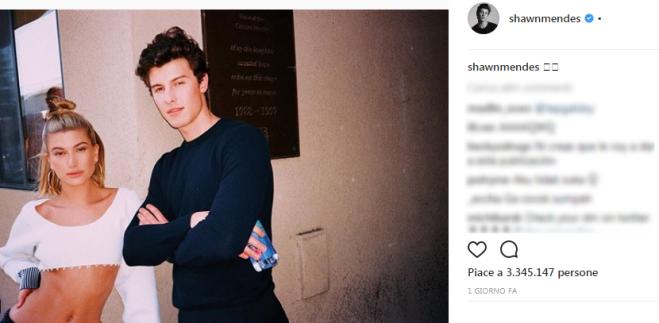 a9d8cb84d818c Shawn Mendes posta una foto con Hailey Baldwin  è solo un amicizia o ...