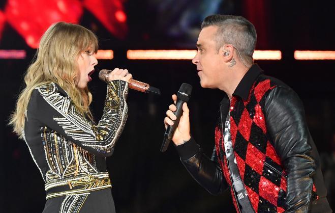 Robbie Williams e Taylor Swift
