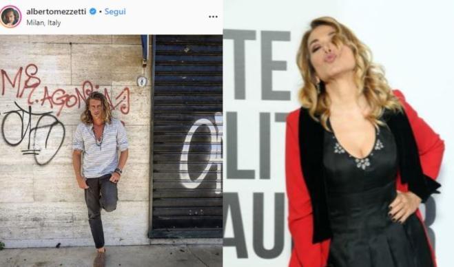 Alberto Mezzetti e Barbara D'Urso: