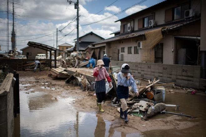 Maltempo Giappone, vittime salgono a 176