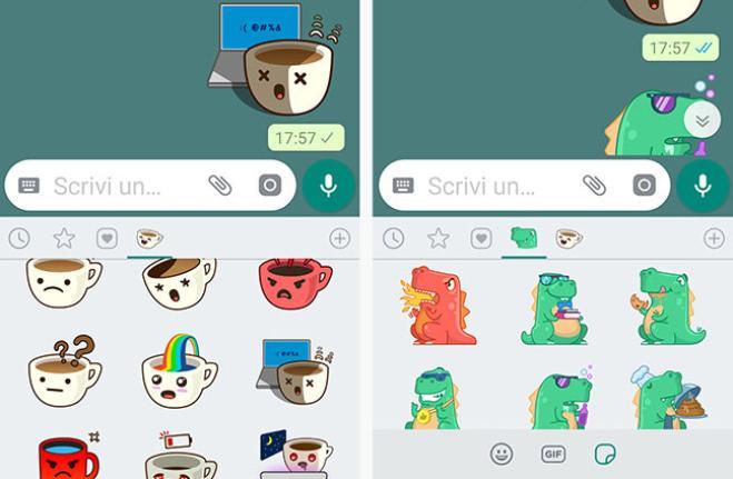 WhatsApp: arrivano gli adesivi per le chat