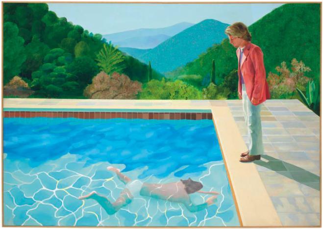 Quadro di Hockney venduto a 90,3 milioni di dollari, un record